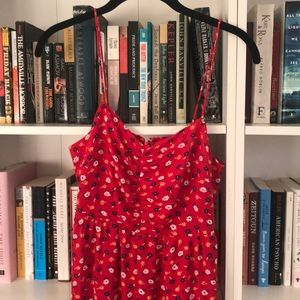 Beautiful red madewell jumpsuit